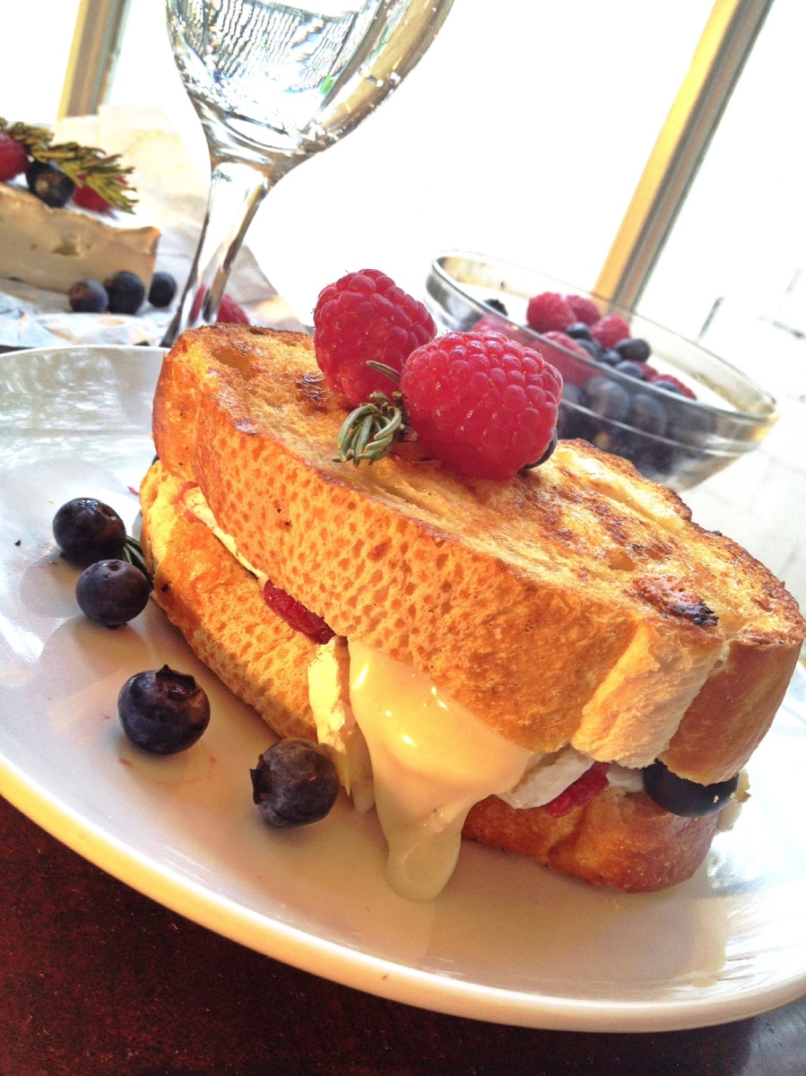 Double Berry Brie Panini