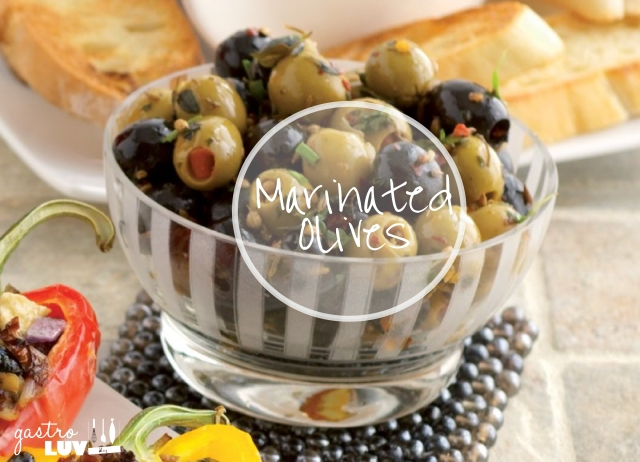 Spanish Tapas... Marinated Olives