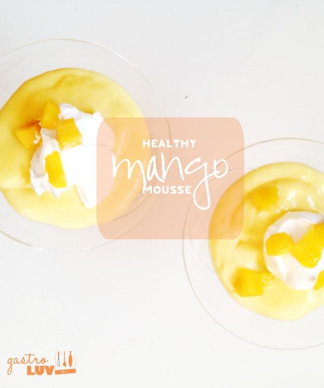 Healthymangomousse